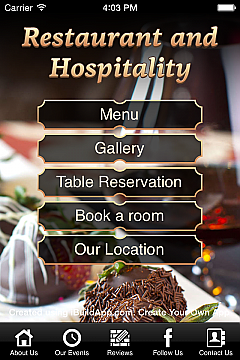 Restaurant and Hospitality Apps
