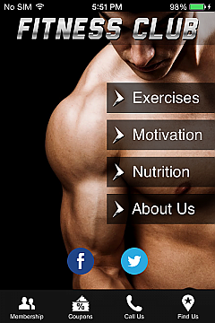 Fitness Club Men Apps