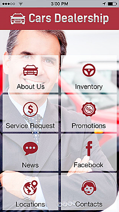 Cars Dealership App Templates