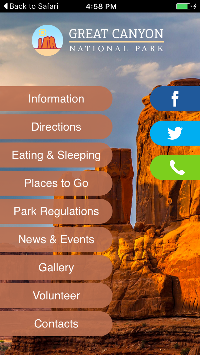 Grand Canyon National Park Apps
